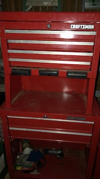 Craftsman toolbox 4 drawer top and two drawer base! Mount Holly, 28120