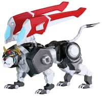 WANTED BLACK AND GREEN DIECAST VOLTRON LIONS WITH ACCESSORIES