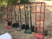 *****ONLY 2 LEFT****. Metal Dolly Heavy Duty (2)  for sale! LIKE NEW, NO RUST in very good condition. The 2 on the left side of picture are available ! Camarillo, 93010