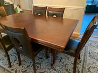 Six chairs and table dining room set Fairfax, 22033