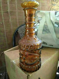 Authentic Jim beam decanter Bakersfield