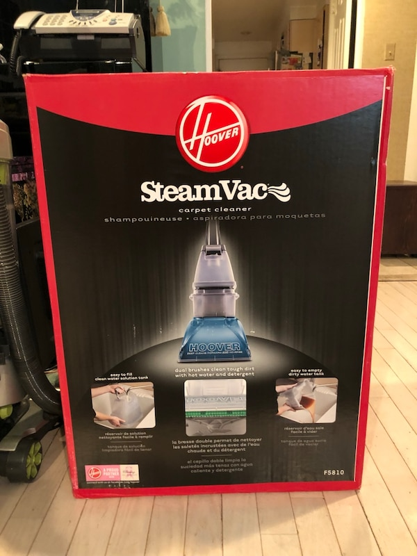 NEW Hoover Steam Vac