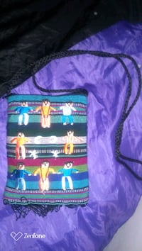 Handmade Tribal multi colored small purse.