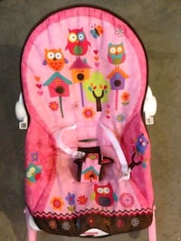 Infant to Toddler Rocker - Pink Owl  Ajax, L1S 4E7