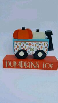 Handmade Wooden Wagon with Pumpkins  American Fork, 84003