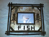 Birch twig fish frame