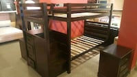 Bunkbed with stairs and drawers on clearance