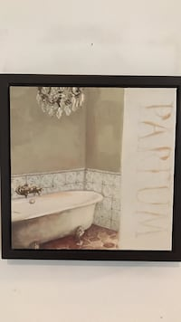 Nice !!! framed bathroom picture on Canvas Gainesville, 20155