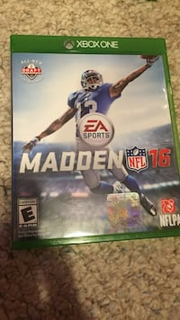 Xbox One Ea Sports Madden NFL 16 case