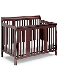 baby's brown wooden crib Herndon, 20171