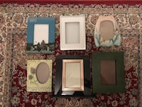 Frames(lot of 6) Montréal, H3S 1G3