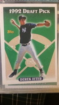 1992 draft pick derek jeter trading card Kingston, 12472