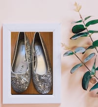 Cute New Silver Shoes size 4 1/2 San Diego, 92107