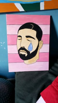 "Original Drake painting 18x24in ""Take Care"" Bowie, 20716"