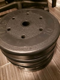 Barbell and Dumbell weight set PICKUP ONLY Toronto, M3H 4Z1
