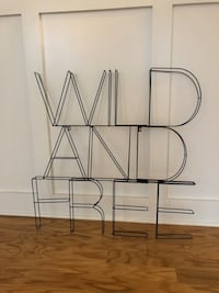 wild and free sign  Aldie, 20105