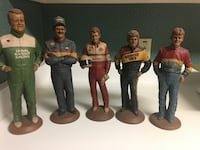 Tom Clark collectible NASCAR Gnomes!! Great condition!! * Greer, 29651