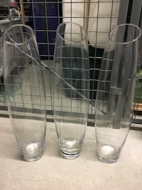 Tall Vases 3 for $20 Vancouver, V5R 0B1