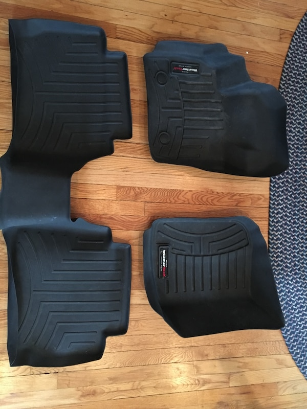 Used Weather Tech Floor Mats For Ford Fusion In Hasbrouck Heights