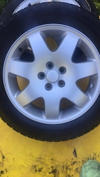 """4 16"""" mag rims with winter tires"""