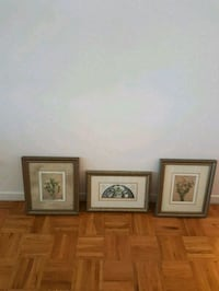 3 pictures for $25 in excellent condition  Toronto, M2M 4B9