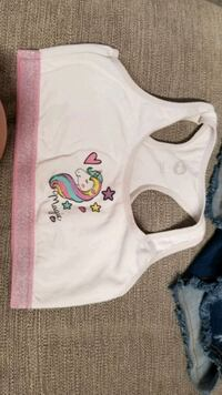kids unicorn top and brand new flower shorts Riverview, 33578