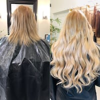 Wedding hair styling Edmonton