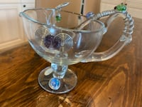 Dressing/food server with matching ladle  Toronto