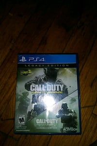 Call of Duty Infinite Warfare PS4 game case West Chester, 19380