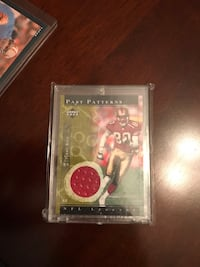 Jerry Rice Past Patterns upper deck card