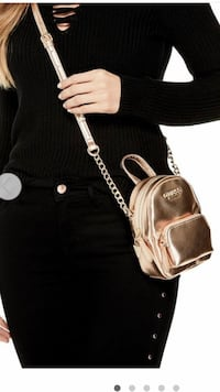 Golden  leather crossbody bag  Brampton, L6T 4T4