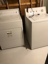 Kenmore clothes washer and dryer set Markham, L3P 3W3
