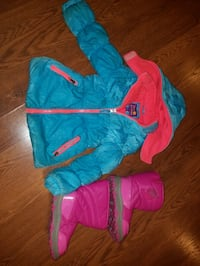 Girls Winter Coat and Snow Boots Franklin, 45005