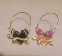 His & Her's wine glass charms Frederick, 21701