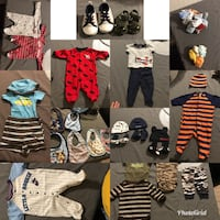 Newborn baby clothes and shoes Auburn, 98092