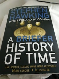 A Briefer History of Time by Stephen Hawking and Leonard Mlodinow (2008) Madison Heights