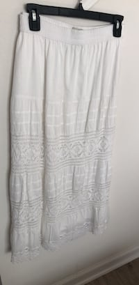 White maxi skirt District Heights, 20747