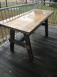 Rustic Table Indoors or Outdoors