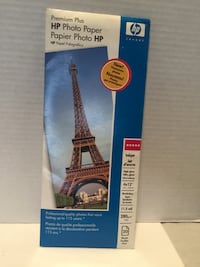 "Premium Plus HP Photo Paper 4 x 12"" ROCKVILLE"