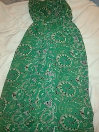 green and white floral sleeveless dress Silver Spring, 20906