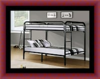 Twin bunkbed frame with 2 mattress Suitland-Silver Hill