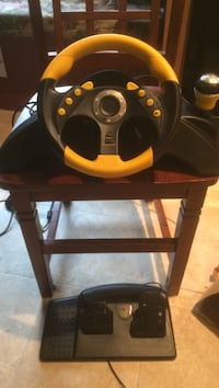 black and red car steering wheel controller Lutherville Timonium, 21093
