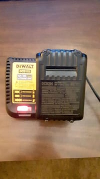Dwalt DCB115 battery charger with battery