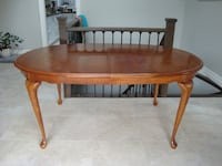 Solid wood dining room table. Newmarket