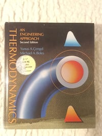 Thermodynamics An Engineering Approach book Barrie, L4N 5Y9