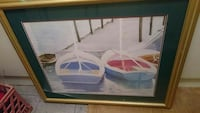 brown photo frame of pedal boats Woodbridge, 22192