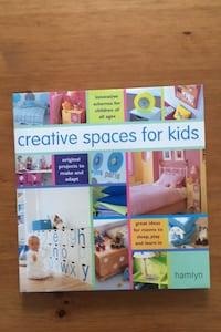 """Creative Spaces for Kids"" book Toronto, M9B 2B1"