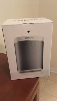 Sonos play 1: wireless speaker white new