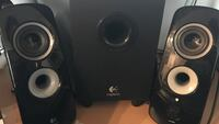 black and gray 2-way speaker Toronto, M1V 5H3