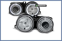 FAROS ANGEL EYES CCFL CROMO SERIE 3 E30 MADRID